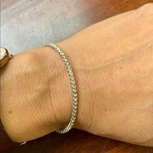 Jewelry - Faux diamond bangle bracelet.